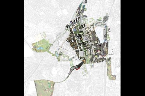 Alsop's masterplan for Croydon
